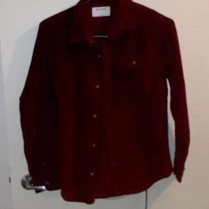 Old navy corduroy shirt